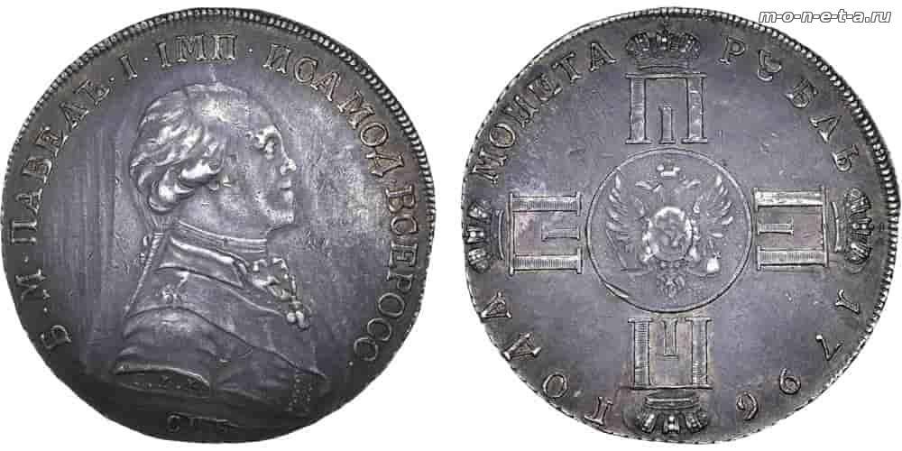 Монета с изображением павла 1 1 лат 2007 года цена